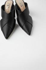 Zara MulesMetacrylHeelShoes