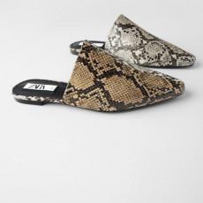 Zara PrintMulesShoes