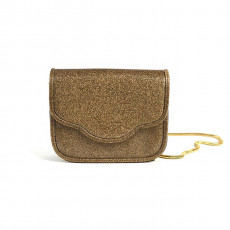 Zara ShinnyGoldBag