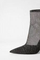 Zara Shyne Asimetric Heels