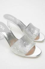Zara SilverMetacrylSandals