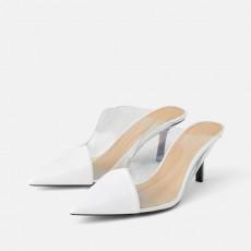 Zara VinylHeelShoes
