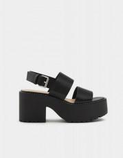 Pull&Bear Double Belt Sandals