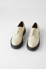 Zara DerbyTrackPlatformShoes