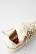 Zara FurSneakers