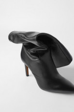 Zara Leather Stilleto Boots