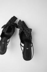 Zara MulesDotsShoes