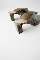 Zara SerpienteMulesShoes