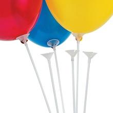 Bete si rozete albe pentru baloane set 50 buc