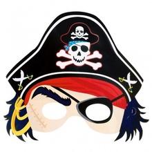Masca Pirat din carton Party PiratesTreasure 21.6 x 22.8 cm