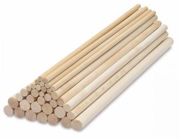 Tipla drvena štap 6mm