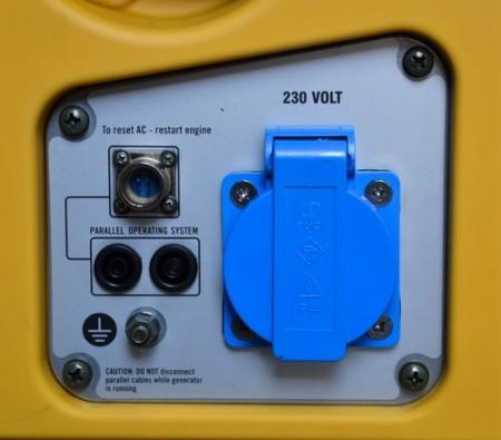 Tihi digitalni inverter agregat 1KW, monofazni