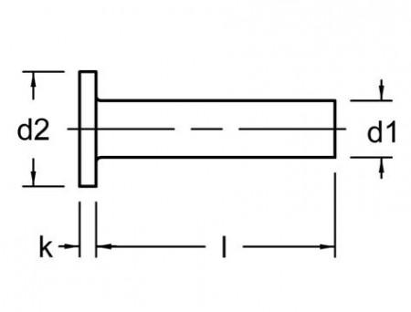 Zakovica alu. 040 5x15