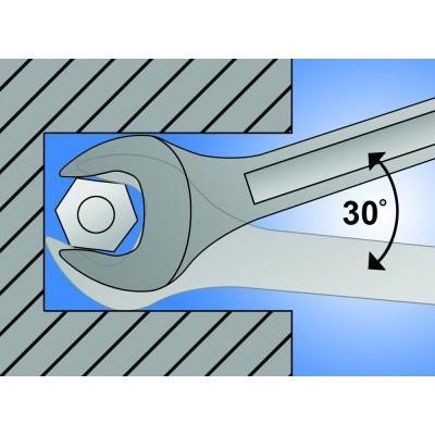 Ključ vilasti 15x17mm