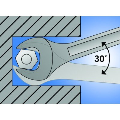 Ključ vilasti 24x30mm