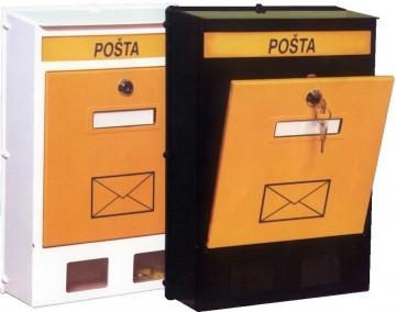 Poštansko sanduče plastično