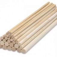 Tipla drvena štap 8mm