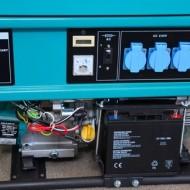 Agregat za struju sa benzinskim motorom- monofazni 5,5 KW, električni start