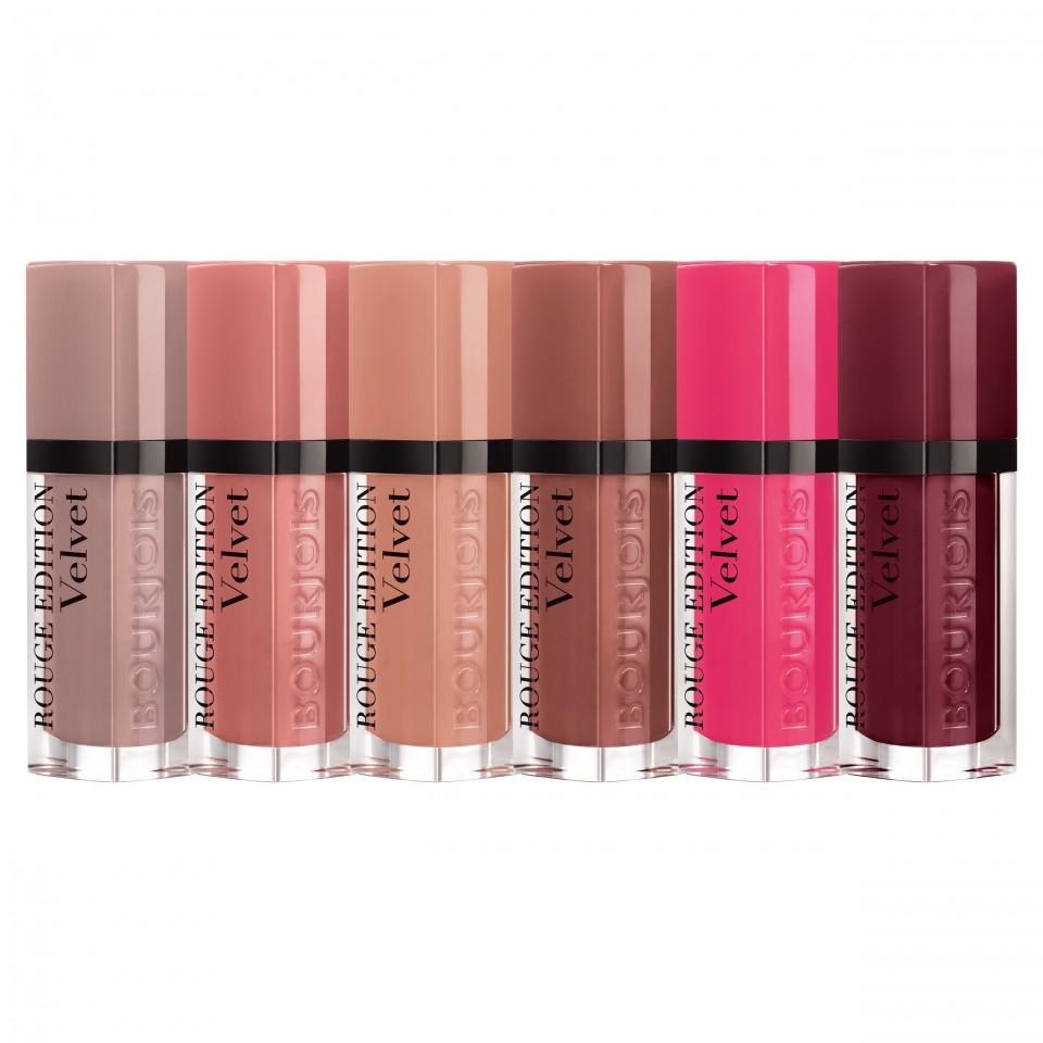 Ruj Bourjois Lipstick Rouge Edition Velvet 24 Black Plum