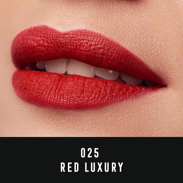 Ruj De Buze Lichid Max Factor Velvet Matte 25 Red Luxury 35 Ml