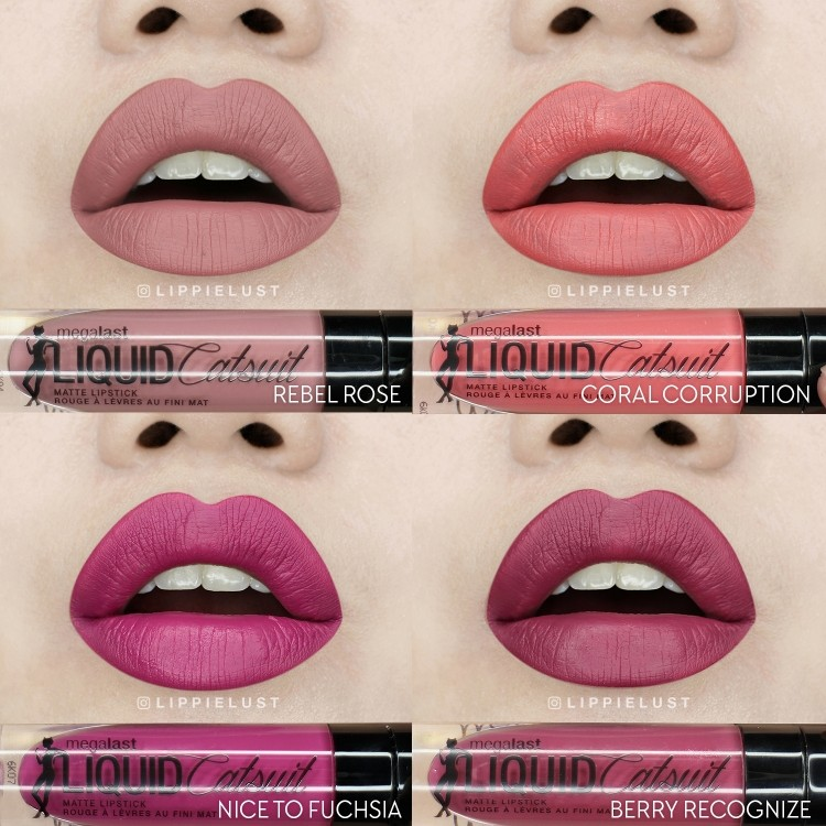 Ruj Mat Wet N Wild Megalast Liquid Catsuit Lipstick Rebel Rose