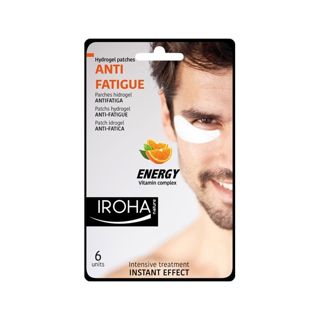 Iroha Hydrogel Patches Anti-Fatigue Eyes Energy Vitamin Complex for Man