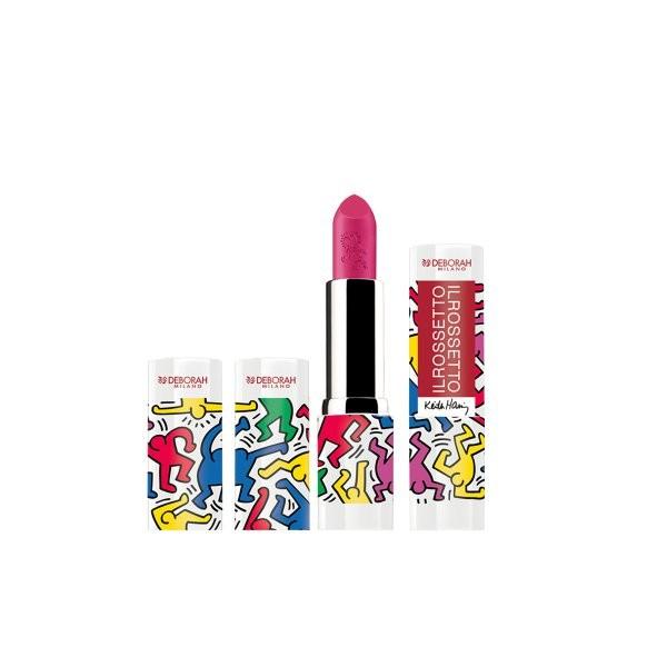 Ruj Deborah Il Rossetto Keith Haring 03 Cyclamen
