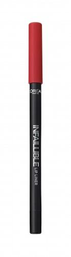 Poze Creion de buze L'Oreal Paris Infaillible Lip Liner  105 Red Fiction