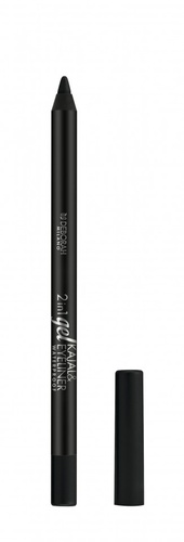 Creion de ochi Deborah 2 in 1 Gel Kajal&Eyeliner Pencil Black,