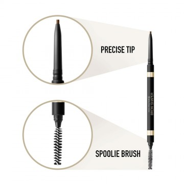 Poze Creion pentru sprancene Max Factor Brow Shaper 30 Deep Brown