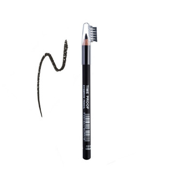 Creion sprancene RADIANT TIME PROOF EYEBROW PENCIL No 1 - BLACK