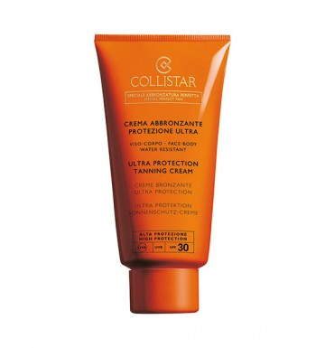 Poze Crema de protectie solara Collistar Ultra Protection Tanning Cream SPF 30  150ml