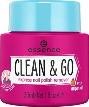 Poze Dizolvant Essence CLEAN & GO EXPRESS NAIL POLISH REMOVER  30ml