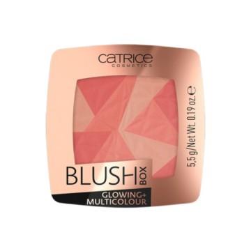 Poze Fard de obraz multicolor Catrice BLUSH BOX GLOWING + MULTICOLOUR 010