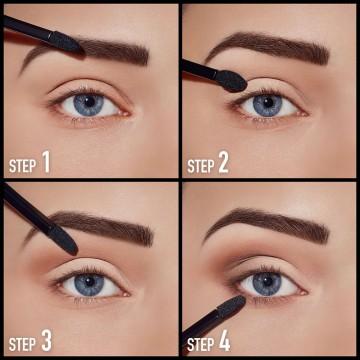 Fard de ochi mat Max Factor Smokey Eye Drama Kit Matte 30 SMOKEY ONYX