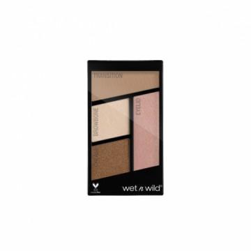 Fard de ochi Wet n Wild Color Icon Eyeshadow Quads - Walking on Eggshells