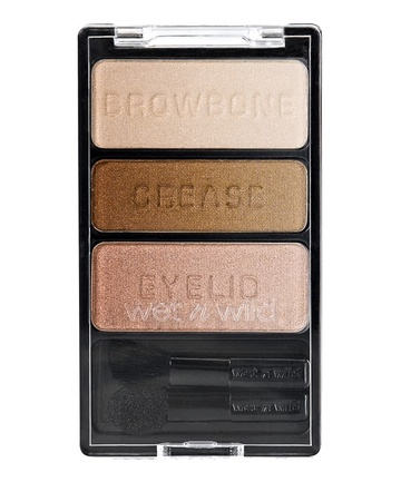 Fard de pleoape Wet n Wild Color Icon Eyeshadow Trio Walking On Eggshells, 3.5 g