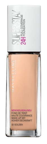 Fond de ten lichid Maybelline New York Superstay 24H cu acoperire ridicata 32 Golden 30ml