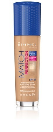 Poze Fond de ten Rimmel Match Perfection, 400 Natural Beige