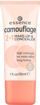 Poze Fond de ten si corector Essence camouflage 2in1 make-up & concealer 10 30ml