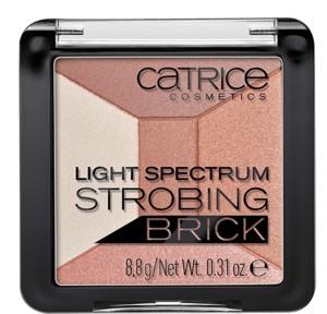 Poze Iluminator Catrice Light Spectrum Strobing Brick 010 Brown Brilliance  8,8 g