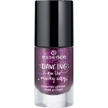 Lac de unghii Essence Essence dancing on the milky way cosmic glitter nail polish 02
