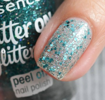 Poze Lac de unghii Essence glitter on glitter off peel off nail polish 06