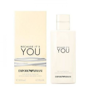 Poze Lotiune de corp Giorgio Armani, Because It's You, 200 ml