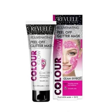 Poze Masca revitalizanta Revuele Color Glow Pink Rejuvenating Peel Off 80ml