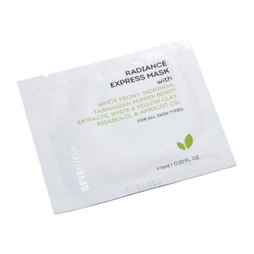 Masca Seventeen RADIANCE EXRESS MASK DOUBLE POUCH 6+6 ML