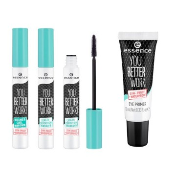 Mascara Essence YOU BETTER WORK! VOLUME & CURL MASCARA