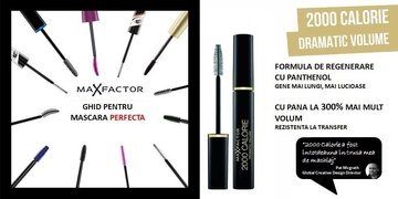 Poze Mascara Max Factor 2000 Calorie Dramatic Volume  Black 9ml