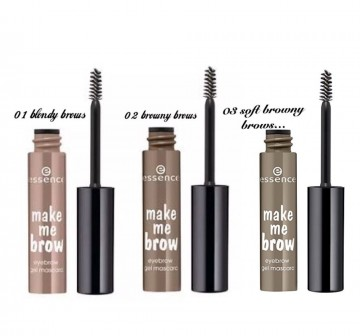 Mascara pentru sprancene Essence make me brow eyebrow gel mascara 02 Browny brow