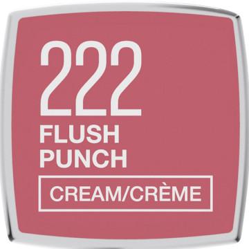 Maybelline New York Color Sensational ruj satinat 222, Flush Punch, 4.2g